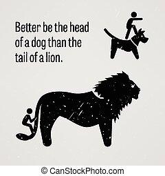 melhor, ser, cabeça, cão