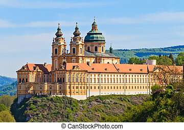 Melk Abbey is an Austrian Benedictine abbey and one of the world's most famous monastic sites