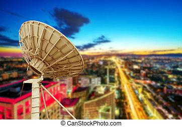 mellékbolygó, antenna