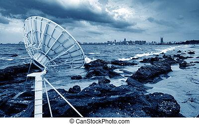 mellékbolygó, antenna, tenger