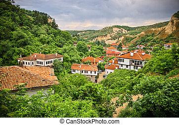 Melnik in Bulgaria - old vineyard town