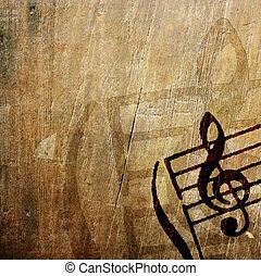 melodía, grunge