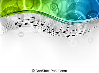 melodia, fundo