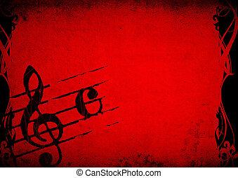 melodie, grunge