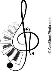 melodie, t�towierung, 2