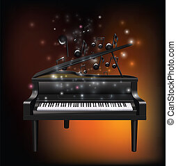 melody2, ピアノ