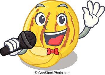 meloen, karakter, vorm, het zingen, pepino