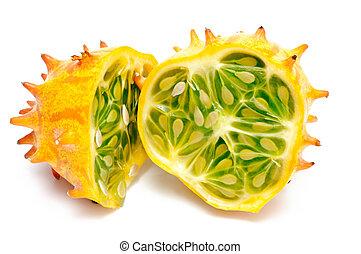 melon, cornu