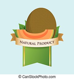 melon natural product label