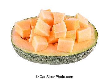 melon slices