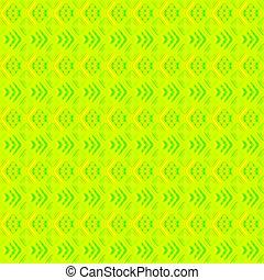 melone, fondo., strisce, giallo, cuori