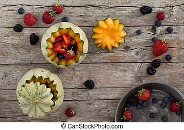 Melons And Soft Fruits
