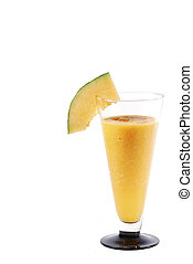 melons ginger smoothie portrait right