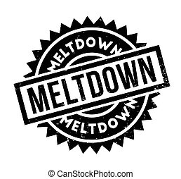 Meltdown rubber stamp
