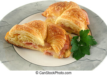 Melted Cheese Croissant 1