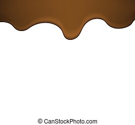 melted liquid chocolate