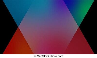 melting, другие, черный, движение, задний план, triangles, ...