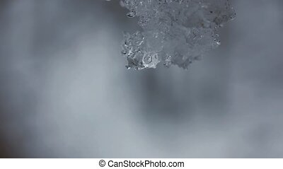 melting, снег
