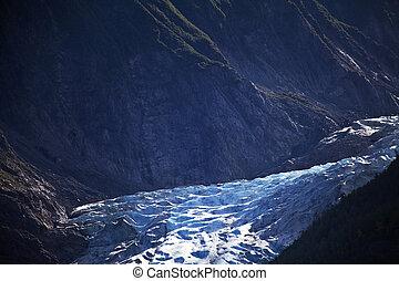 Melting Alaskan Glacier