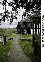 Melverley Church Path