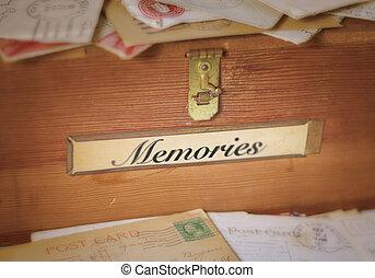 memórias, enfraquecendo