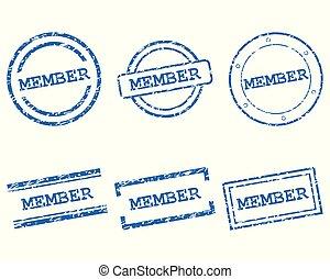 Member stamps