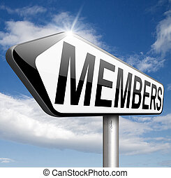 members only - membership required restricted area access...