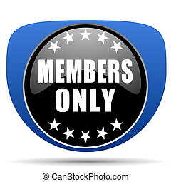 Members only web icon