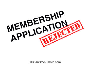 Membership Application Rejected