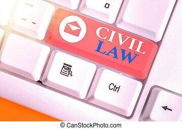 membres, droit & loi, écriture, entre, projection, photo, showcasing, business, note, relations, community., law., intéressé, civil, privé