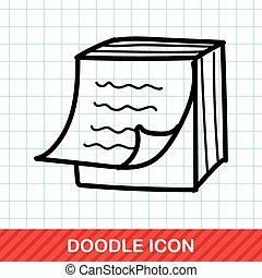 Memo color doodle