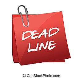 memo , met, text:, deadline