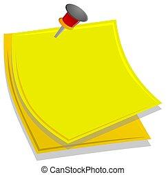 memo to write a message