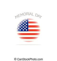 Memorial day background - abstract memorial day background...