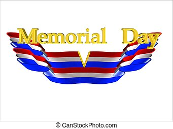 memorial day background - memorial day on wings of eagle...