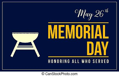 Memorial day background style collection