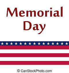 Memorial Day in the United States.