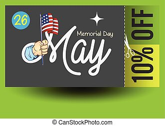 Memorial Day Shopping Discount