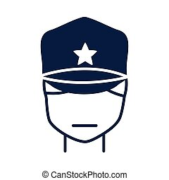 memorial day soldier with character military american celebration silhouette style icon