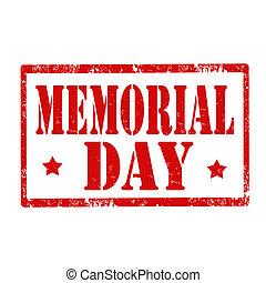 Memorial Day-stamp