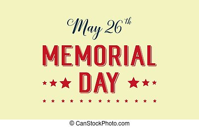 Memorial day theme background style