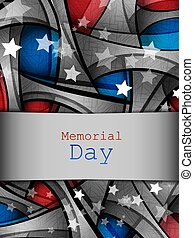 Memorial day vector design