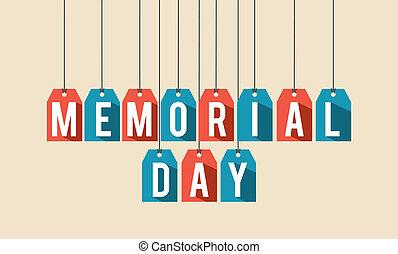 memorial, desenho, dia