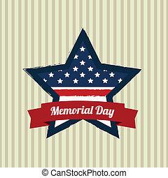 memorial, estrela, dia