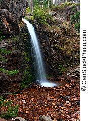 Memorial Falls in Montana
