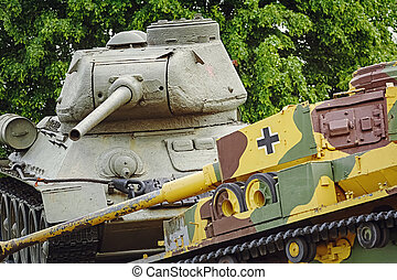 Memorial in Memory of the Tank Battle - Soviet Tank beats ...
