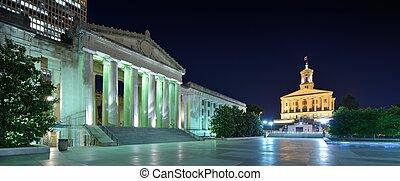 memorial, nashville, guerra, auditório