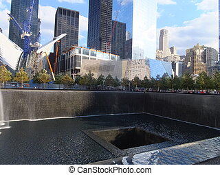 World Trade Center Ground Zero - Memorial Site at World...