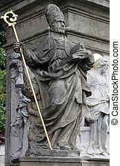 Memorial statue of Saint John of Nepomuk