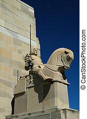 Memorial to George V